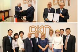 Delegation from China visits PKN